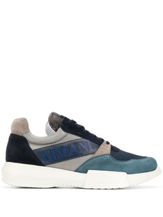 Giorgio Armani кроссовки на шнуровке
