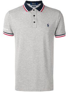 Polo Ralph Lauren рубашка-поло с полосками