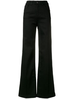 Emporio Armani джинсовые брюки палаццо