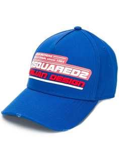 Dsquared2 кепка с логотипом