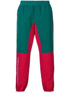 JohnUNDERCOVER спортивные брюки в стиле колор-блок