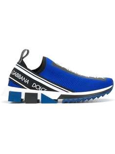 Dolce & Gabbana брендированные кроссовки без застежки