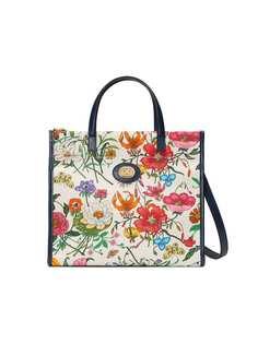Gucci сумка-тоут с принтом Flora