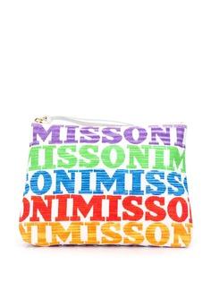 Missoni Mare клатч с логотипом