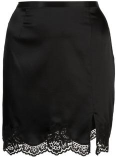 Fleur Du Mal юбка James с кружевной отделкой
