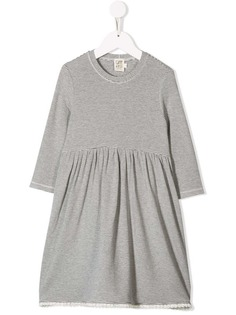 Caffe Dorzo платье в полоску с длинными рукавами Caffe' D'orzo