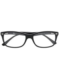 Ray-Ban солнцезащитные очки в прямоугольной оправе