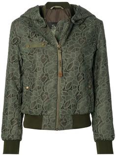 Mr & Mrs Italy куртка-бомбер с кружевными вставками
