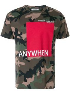 Valentino футболка Anywhen с принтом