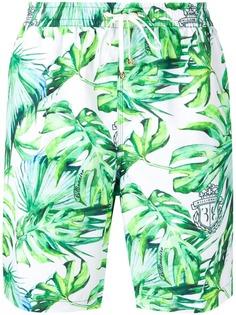 Billionaire плавки-шорты с принтом