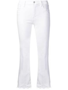 J Brand джинсы с кружевной отделкой
