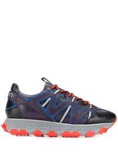 Lanvin кроссовки со вставками