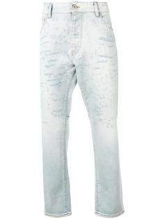 Emporio Armani джинсы кроя слим с эффектом потертости