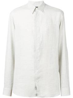 Giorgio Armani рубашка с заостренным воротником