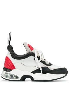 Karl Lagerfeld кроссовки в стиле колор-блок