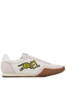 Kenzo кроссовки с нашивкой Tiger