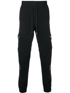 Philipp Plein спортивные брюки на молнии