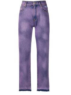 MSGM джинсы с нашивками