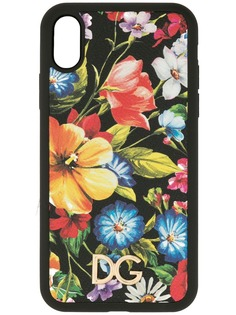 Dolce & Gabbana чехол для iPhone Х с цветочным принтом