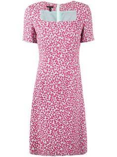 Escada платье с цветочным принтом
