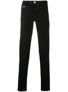 Emporio Armani джинсы с нашивкой логотипа