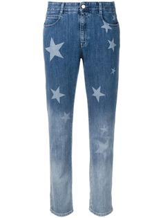 Stella McCartney джинсы-бойфренды с принтом