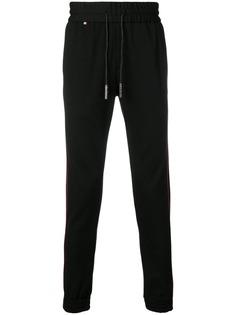 Philipp Plein спортивные брюки с контрастной окантовкой