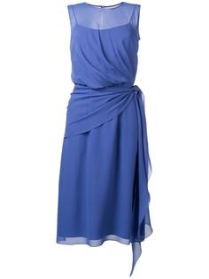 Max Mara шифоновое платье Zenobia