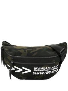 Ports V камуфляжная поясная сумка с логотипом