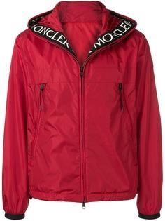 Moncler куртка на молнии с капюшоном