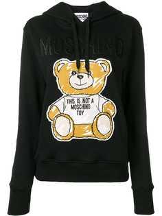 Moschino худи Teddy Bear