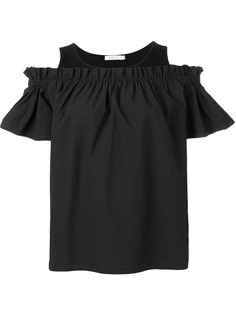 Neul блузка с открытыми плечами