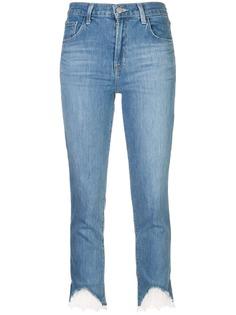 J Brand джинсы с кружевными оборками