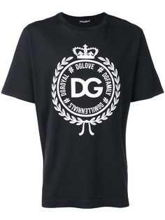 Dolce & Gabbana футболка с логотипом DG