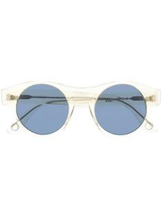 Monocle Eyewear солнцезащитные очки в круглой прозрачной оправе