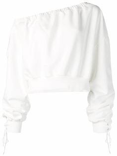 Unravel Project свитер с открытыми плечами