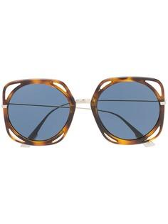 Dior Eyewear солнцезащитные очки черепаховой расцветки