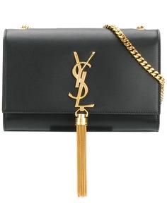 Saint Laurent сумка на плечо Kate с кисточкой