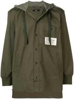 Diesel куртка с капюшоном