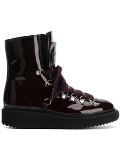 Kenzo ботинки Alaska с меховой отделкой