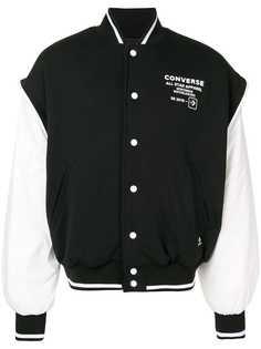 Converse куртка-бомбер с логотипом
