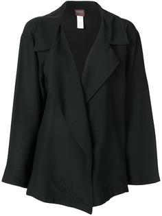Kenzo Pre-Owned куртка свободного кроя с широкими отворотами