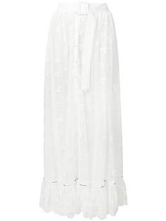 Off-White юбка макси с поясом