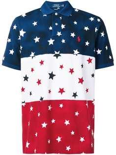 Polo Ralph Lauren рубашка-поло с принтом