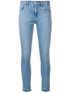 Levis джинсы скинни с необработанными краями