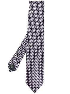 Ermenegildo Zegna галстук с узором