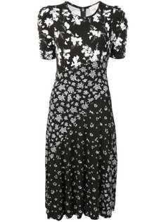 Michael Michael Kors платье трапеция с цветочным принтом