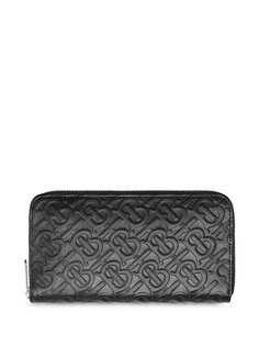 Burberry кошелек с монограммой