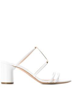 Casadei босоножки на наборном каблуке