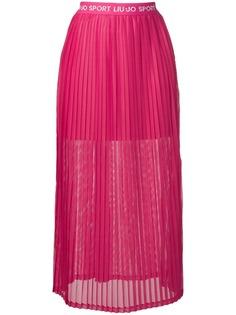 Liu Jo юбка с логотипом на поясе
